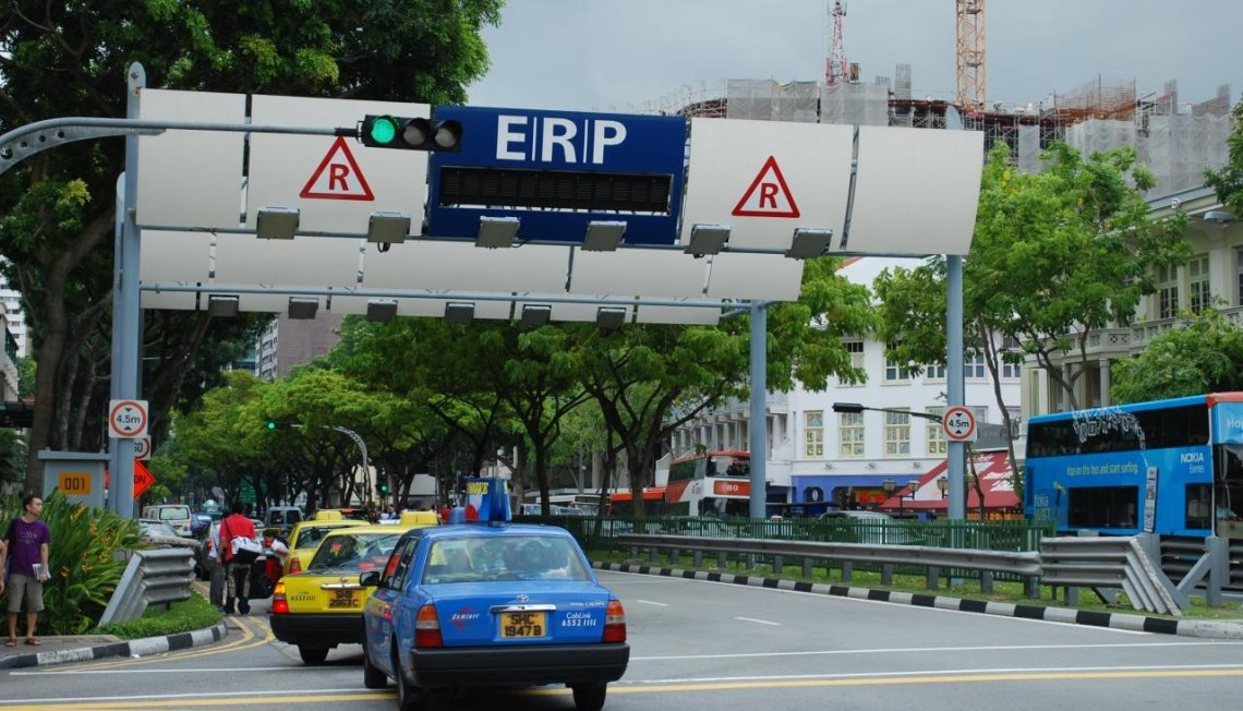 Singapore S Road Tolls Will Be Satellite Based From 2020