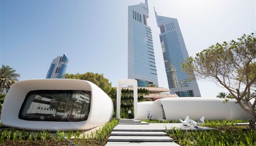 dubai 3d print office