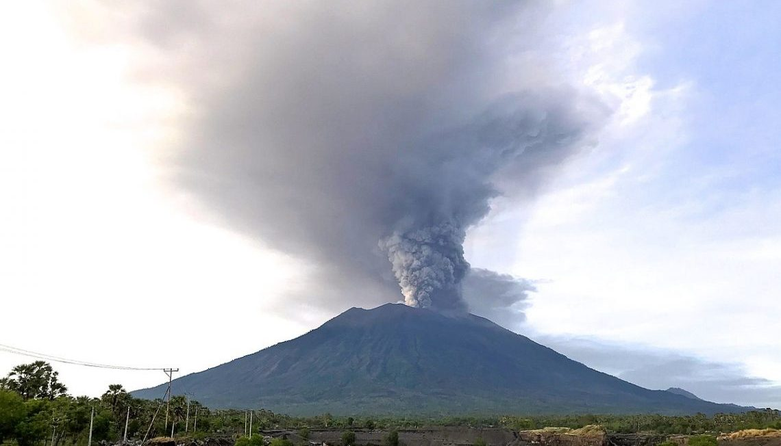 how indonesia is responding to the mt agung eruption